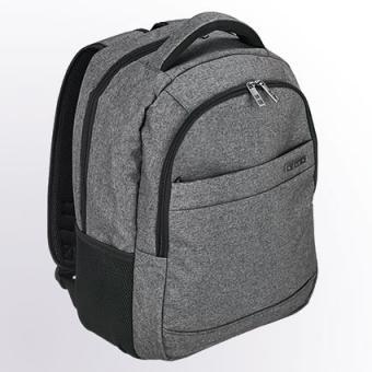 "d&n Bags & More Rucksack mit Laptopfach 15"" - 5610 grau"