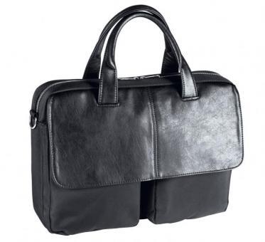 """d&n Basic Line Businesstasche mit Laptopfach 15"""" -  5133 schwarz"""
