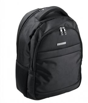 "d&n Bags & More Rucksack mit Laptopfach 15"" - 5610 schwarz"