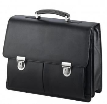 "d&n Business Line Aktentasche mit Laptopfach 15"" - 5516 schwarz"