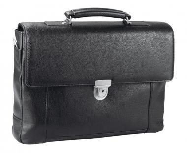 """d&n Business Line Aktentasche mit Laptopfach 15"""" - 5530 schwarz"""