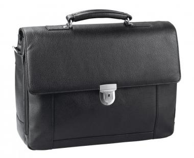 "d&n Business Line Aktentasche mit Laptopfach 15"" - 5531 schwarz"