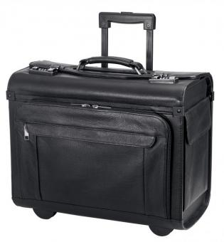 d&n Business & Travel Pilotenkoffer-Trolley 2865 schwarz
