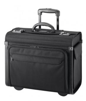 d&n Business & Travel Pilotenkoffer-Trolley 2871 schwarz