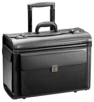 d&n Business & Travel Pilotenkoffer-Trolley 2879 schwarz