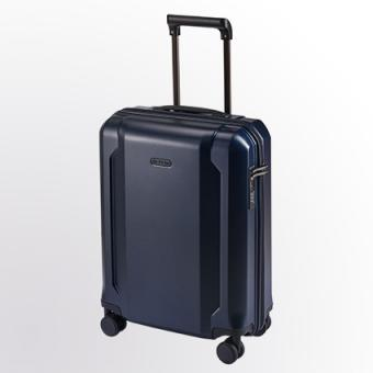d&n Travel Line 81 Trolley S 4R 54cm 8150 blau