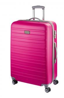 d&n Travel Line 94 Trolley M 4R 66cm - 9460 pink