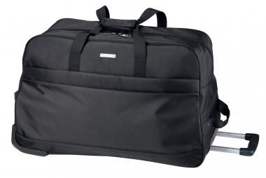 d&n Bags & More Reisetasche mit Rollen- 5615 schwarz