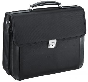 d&n Basic Line Aktentasche mit Laptopfach- 5662 schwarz