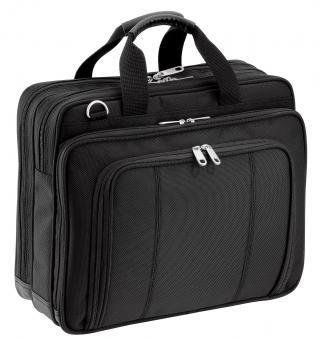 """d&n Basic Line Businesstasche mit Laptopfach 15"""" - 5687 schwarz"""