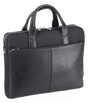 d&n Basic Line Businesstasche mit Laptopfach- 5130 schwarz