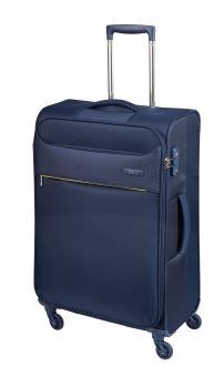 d&n Travel Line 63 Trolley M 4R 69cm - 6364 blau