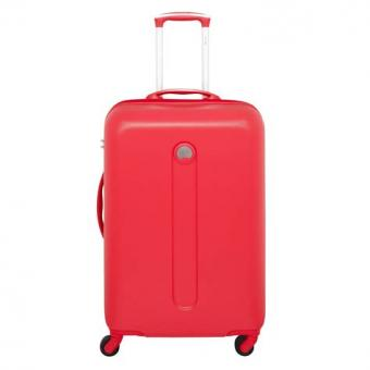 Delsey Helium Classic Trolley 4 Rollen 67cm Rot