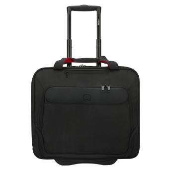 Delsey Parvis Plus Business-Trolley 2 Rollen Schwarz
