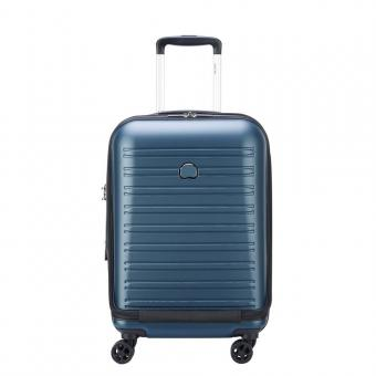 Delsey Segur 2.0 Business-Trolley 4 Rollen 55cm Blau
