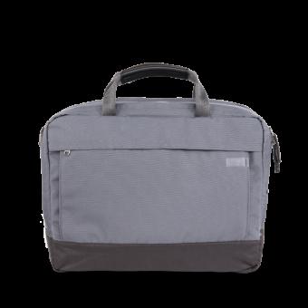 A E P Delta Classic Essential Work Bag mit Laptopfach Graphite Grey