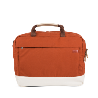 A E P Delta Classic Essential Work Bag mit Laptopfach Mars Red