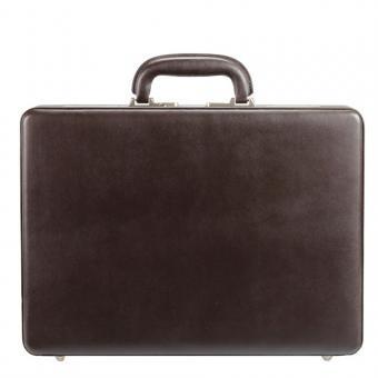 Dermata Leder Aktenkoffer 1302N braun