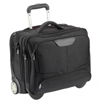 Dermata Business Trolley 3456NY schwarz / grau