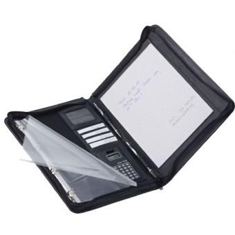 Dermata Schreibmappe 8508DC schwarz