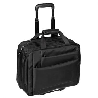 "Dermata Office Case 17"" Business Trolley 3479NY schwarz"