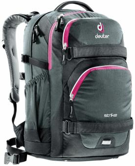 Deuter School Strike Rucksack black-magenta