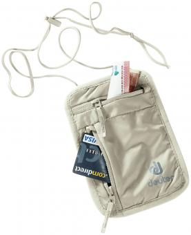 Deuter Security Wallet I Geldbörse sand