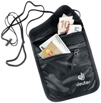 Deuter Security Security Wallet II Geldbörse black