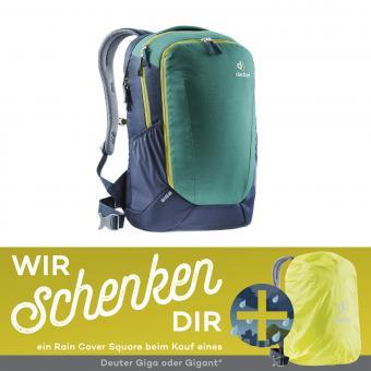 Deuter Giga Daypack + gratis Raincover Square Neon* alpinegreen-navy