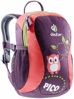 Deuter Pico Kinderrucksack plum-coal