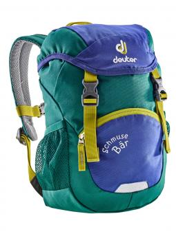 Deuter Schmusebär Limited Edition Kinderrucksack indigo-alpinegreen