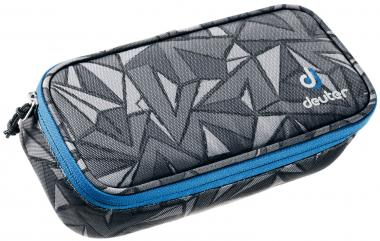Deuter School Pencil Case Mäppchen black zigzag