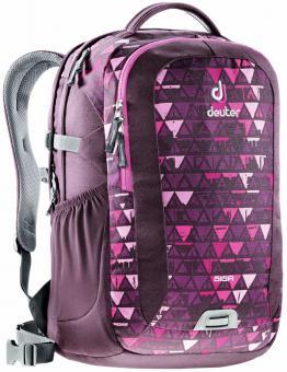 "Deuter GIGA Rucksack School & Daypack 15,6"" aubergine-triangle"