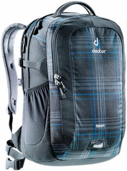 "Deuter GIGA Rucksack School & Daypack 15,6"" blueline check"