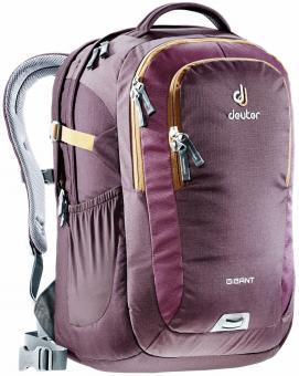 """Deuter GIGANT Rucksack School & Daypack 17,3"""" aubergine-lion"""