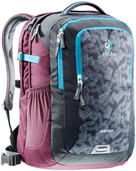 "Deuter GIGANT Rucksack School & Daypack 17,3"" granite brush-blackberry"