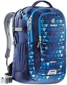 "Deuter GIGANT Rucksack School & Daypack 17,3"" navy triangle"