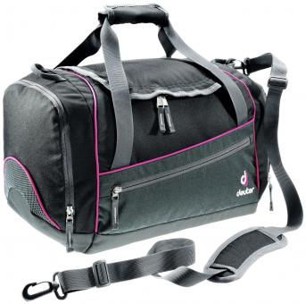 Deuter School Hopper Sporttasche Black-Magenta