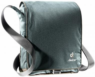 Deuter Roadway Umhängtasche Tablet-PC-Fach anthracite-brown