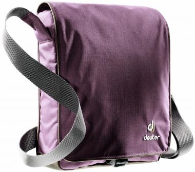 Deuter Roadway Umhängtasche Tablet-PC-Fach aubergine-brown