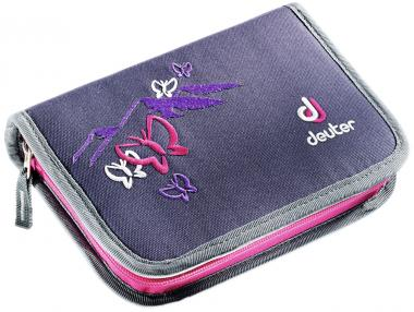 Deuter School Pencil Box blueberry butterfly