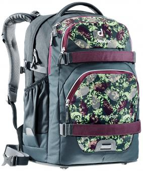 Deuter School Strike Rucksack blackberry squiggle-titan