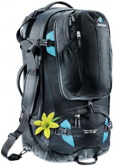 Deuter Traveller 60 + 10 SL Reiserucksack black-turquoise
