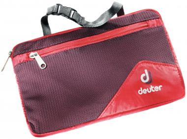 Deuter Wash Bag Lite II Kulturbeutel fire-aubergine