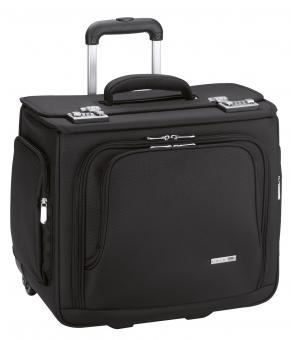 d&n Business & Travel Pilotenkoffer- Trolley- 2861 schwarz