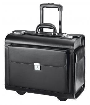d&n Business & Travel Pilotenkoffer- Trolley- 2870 schwarz
