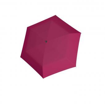 doppler Carbonsteel Mini Slim Uni Taschenschirm very Berry
