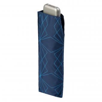 doppler Carbonsteel Slim Manuell Taschenschirm Paris Navy