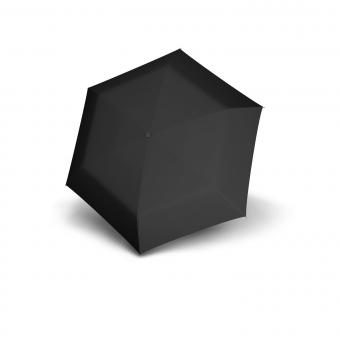 doppler Carbonsteel Slim Manuell Taschenschirm Uni Schwarz