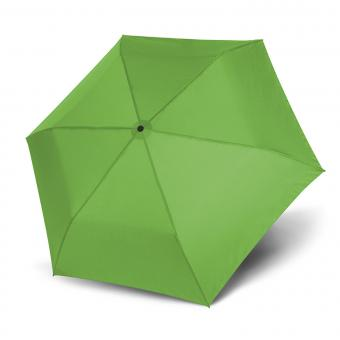 doppler Zero Magic Leichtester Auf-Zu Automatik Taschenschirm uni green